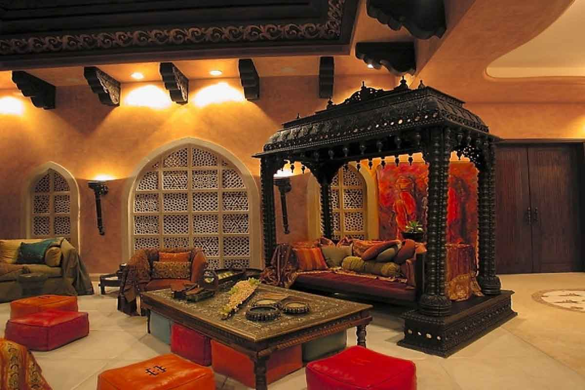 living room design rajasthani  8 tips to style your home the Rajasthani way | Homeonline