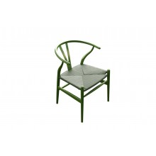Mediterranean Interpretation Green Chair With Dico Paint