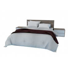 Petals Queen Size Bed