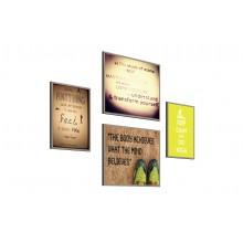 Robust Set Of 4 Graphic Artwork