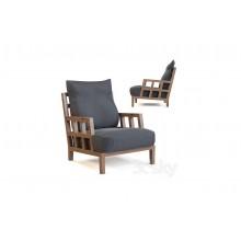 Woody Tones Single Seater Sofa