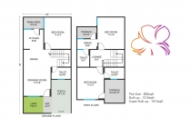3 BHK ROW HOUSE 1310 sq-ft