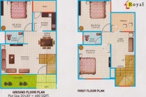 3 BHK ROW HOUSE 1210 sq-ft