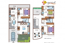 3 BHK ROW HOUSE 1910 sq-ft