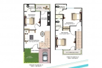 3 BHK VILLA / INDIVIDUAL HOUSE 1225 sq-ft