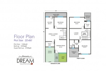 3 BHK ROW HOUSE 1670 sq-ft