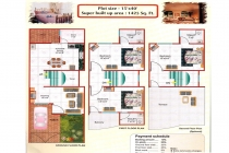 3 BHK VILLA / INDIVIDUAL HOUSE 1425 sq-ft