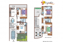 3 BHK ROW HOUSE 1580 sq-ft