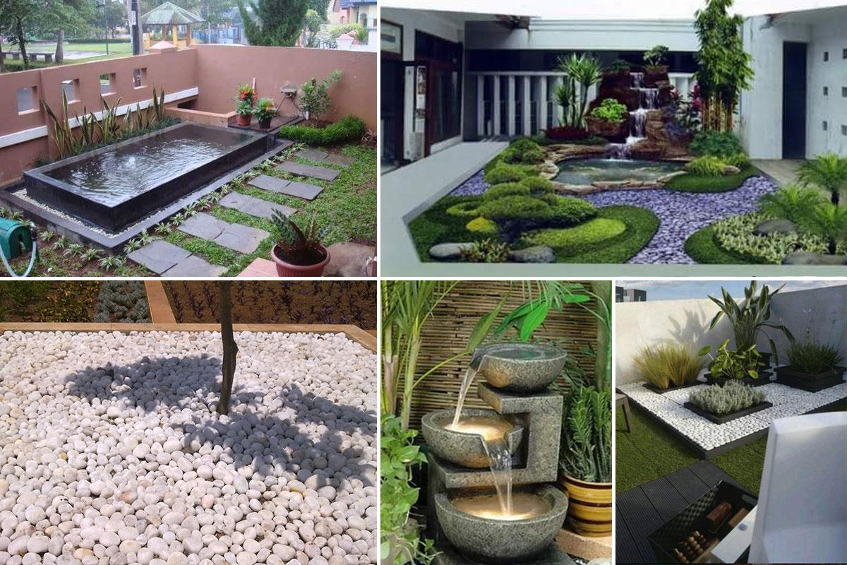 Garden Decor 5 Different Ways To Use Pebbles As Garden Decor