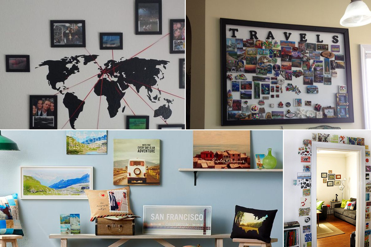 4 Tips to Decorate Home using Travel Souvenirs | Homeonline