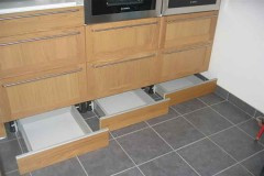 4 tips to maximize storage with baseboard drawers