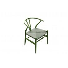 Mediterranean Interpretation Green Chair With Dico Paint