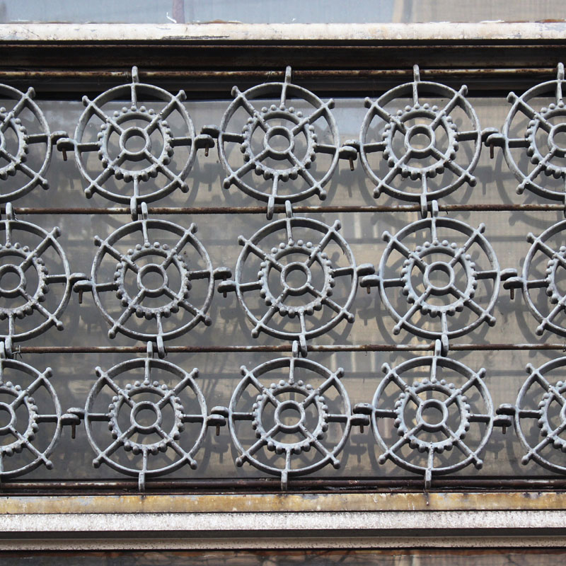 9 material choices for window grills homeonline for Window design iron