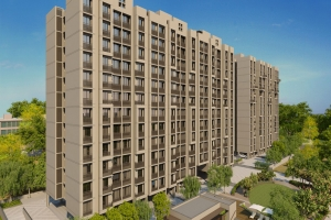Galaxy Intercity In Kathwada Ahmedabad 1 2 Bhk Flats In