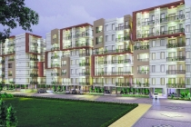 3 BHK APARTMENT 1154 sq- ft
