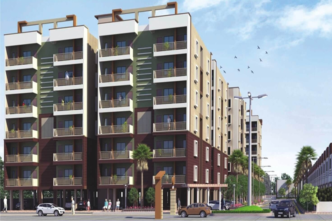 1bhk Apartment 670 Sqft For Sale In Sai Villas And
